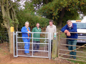The Completed Bridle Gate - 15 Oct 2015